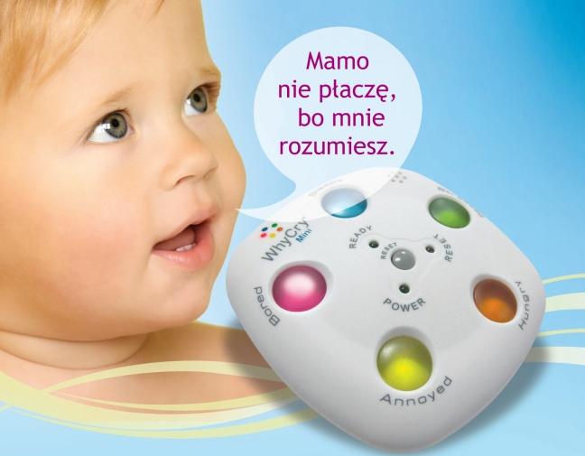 Twoje dziecko płacze? WhyCry może być rozwiązaniem.