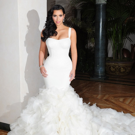 Druga suknia ślubna Kim Kardashian