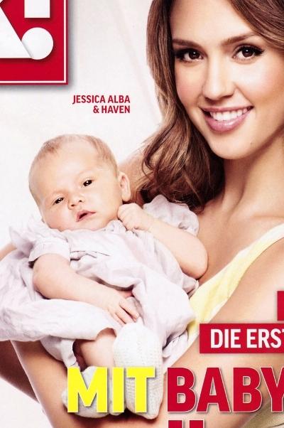 Jessica Alba z córką Haven