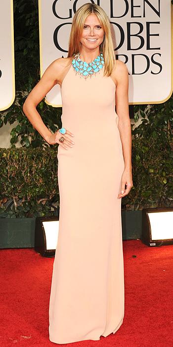 Golden Globe Heidi Klum