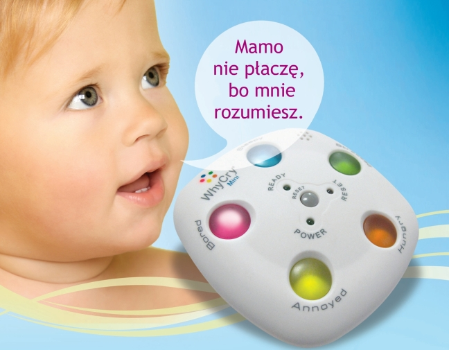 WhyCry tłumaczy płacz dziecka