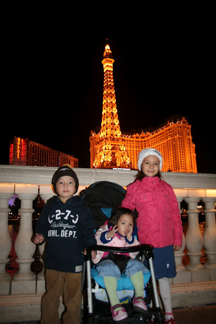 Las Vegas z dziećmi
