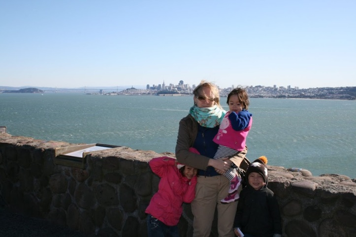 San Francisco z dziećmi.