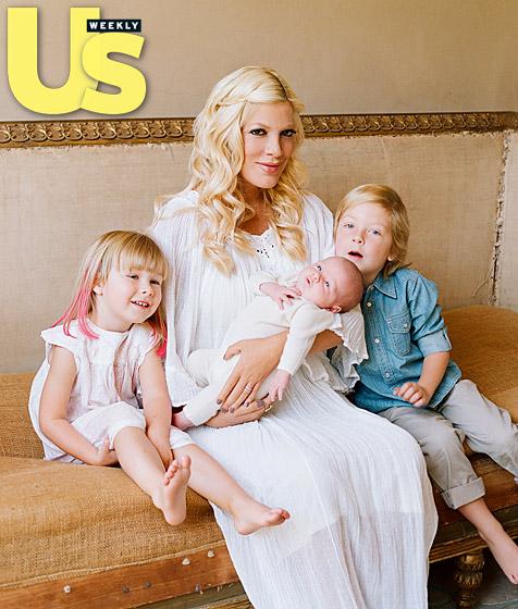 Tori Spelling z dziećmi