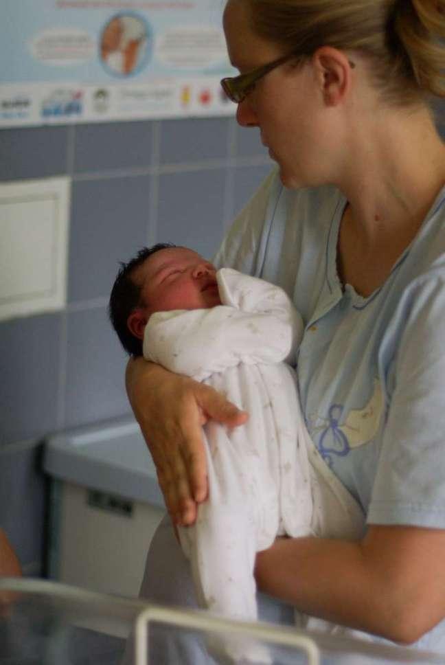 mama i niemowlak