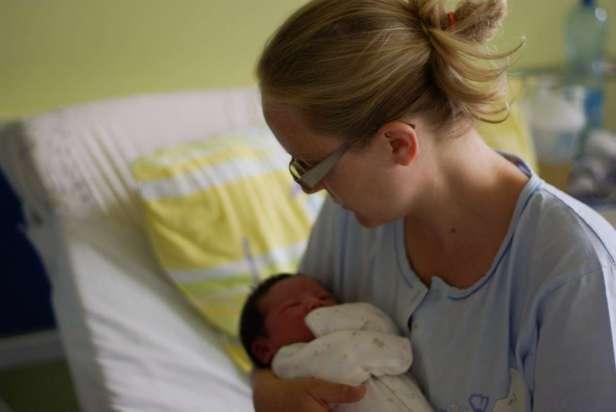 Matka i niemowlę