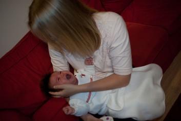 niemowlak płacz
