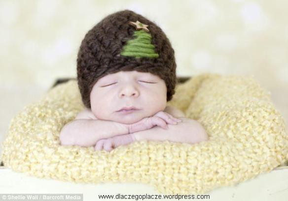 niemowlak śpi, zdjęcia niemowląt