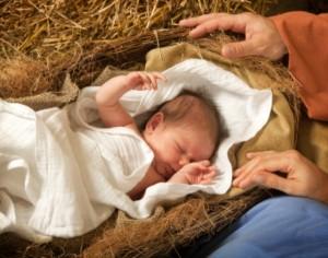 niemowlak śpi, sen dziecka