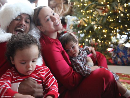 Mariah Carey z rodziną