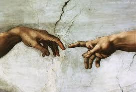 Michał Anioł Stworzenie Adama