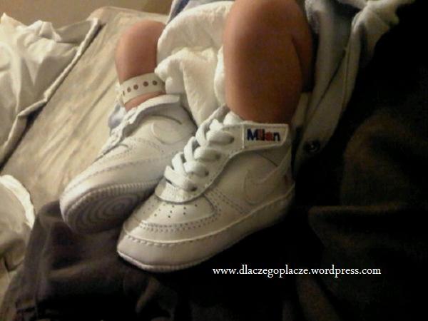 Małe nóżki, małe Milan, synka Shakiry