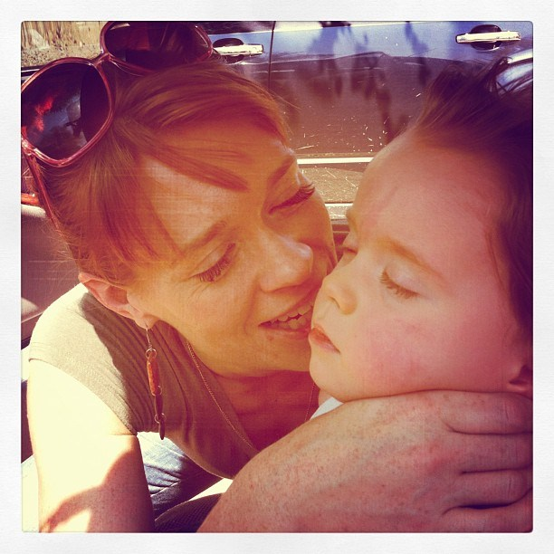 Emily Rapp z synem