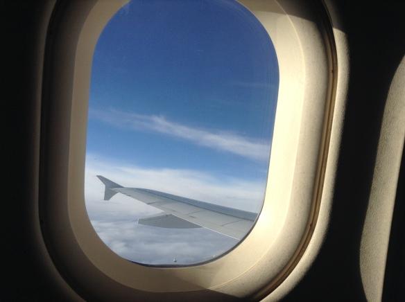 dzieci w samolocie