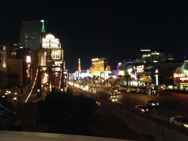 Las Vegas Strip nocą