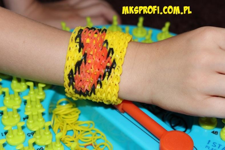 śliczne wzory bransoletek z gumeczek