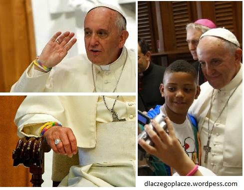 Papież na spotkaniu z dziećmi.