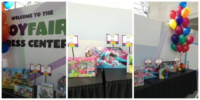 Wystawa nagrodzonych produktów. Zabawka roku  dla dziewczynek - plastikowy, można dodać badziewny supermarket. :/