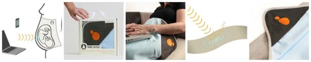 Kocyk belly armor ochrona w ciąży